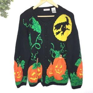 Vintage Talbots Halloween Knit Sweater